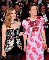 www.acepixs.com<br /> <br /> May 17 2017, Cannes<br /> <br /> Jessica Chastain and Maren Ade (R) arriving at the 'Ismael's Ghosts (Les Fantomes d'Ismael)' screening and Opening Gala during the 70th annual Cannes Film Festival at Palais des Festivals on May 17, 2017 in Cannes, France. <br /> <br /> By Line: Famous/ACE Pictures<br /> <br /> <br /> ACE Pictures Inc<br /> Tel: 6467670430<br /> Email: info@acepixs.com<br /> www.acepixs.com