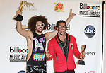 LAS VEGAS, CA - MAY 20: LMFAO (Redfoo and Sky Blu) pose in the press room at the 2012 Billboard Music Awards at MGM Grand on May 20, 2012 in Las Vegas, Nevada.