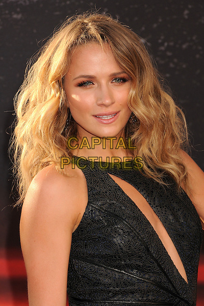 "Shantel VanSanten.""Fast & Furious 6"" Los Angeles Premiere held at the Universal Gibson Amphitheatre, Universal City, California, USA..May 21st, 2013.headshot portrait black leather cut out away slashed .CAP/ADM/BP.©Byron Purvis/AdMedia/Capital Pictures"