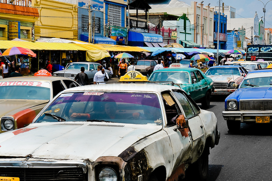 American classic car in Venezuela | Jan Sochor Photography Archive