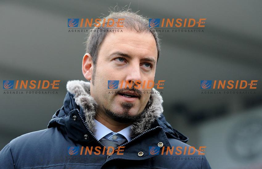 "Igor CAMPEDELLI (Cesena).Cesena 19/02/2012 Stadio ""Dino Manuzzi"".Serie A 2011/2012.Football Calcio Cesena Vs Milan.Foto Insidefoto Alessandro Sabattini."