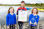 Evan, Alex and Dylan Nealon from Lixnaw were the Super Junior Winner at the Esco Young Enviromental Awards 2019 in Dublin, pictured in the Tralee Bay Wetlands on Tuesday..