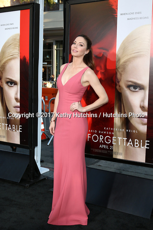 "LOS ANGELES - APR 18:  Whitney Cummings at the ""Unforgettable"" Premiere at TCL Chinese Theater IMAX on April 18, 2017 in Los Angeles, CA"