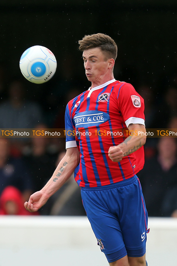 Oliver Hawkins of Dagenham during Dagenham and Redbridge vs Boreham Wood, Vanarama National League Football at the Chigwell Construction Stadium on 3rd September 2016
