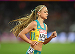 Genevieve LACAZE (AUS) in the womens 3000m steeplechase final. IAAF world athletics championships. London Olympic stadium. Queen Elizabeth Olympic park. Stratford. London. UK. 11/08/2017. ~ MANDATORY CREDIT Garry Bowden/SIPPA - NO UNAUTHORISED USE - +44 7837 394578
