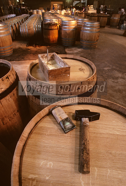 Europe/France/Poitou-Charentes/16/Charente/Cognac/Tonnellerie Seguin Moreau : Les outils<br /> PHOTO D'ARCHIVES // ARCHIVAL IMAGES<br /> FRANCE 1990