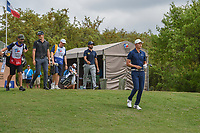 HaoTong Li (CHN) heads down 1 during day 1 of the Valero Texas Open, at the TPC San Antonio Oaks Course, San Antonio, Texas, USA. 4/4/2019.<br /> Picture: Golffile | Ken Murray<br /> <br /> <br /> All photo usage must carry mandatory copyright credit (© Golffile | Ken Murray)