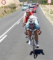 BARAKALDO, ESPANHA, 22 AGOSTO 2012 - LA VUELTA - Ciclistas participam da quarta etapa da prova La Vuelta, 160 km entre Barakaldo e Valdezcaray no norte da Espanha, na tarde de ontem, 21. (FOTO: PAULA OTERO / ALFAQUI / BRAZIL PHOTO PRESS).