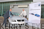 Gordon Lunn and Tony Casey with the BMW Premium Selection available at Aherns BMW Castleisland