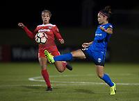 Boyds, MD - Saturday September 30, 2017: Nahomi Kawasumi during a regular season National Women's Soccer League (NWSL) match between the Washington Spirit and the Seattle Reign FC at Maureen Hendricks Field, Maryland SoccerPlex.