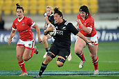 9th June 2017, Westpac Stadium, Wellington, New Zealand; International Womens Rugby; New Zealand versus Canada;  New Zealands Aroha Savage in action during the International Women's Series
