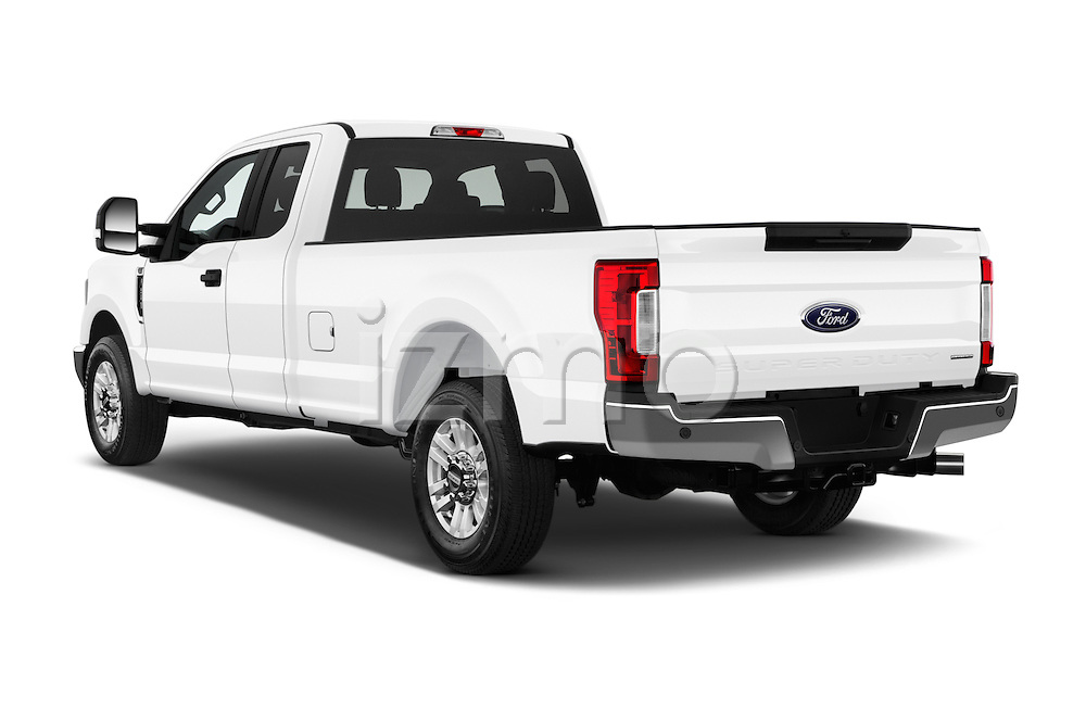 Car pictures of rear three quarter view of 2017 Ford F-250 XLT-SuperCab 4 Door Pickup Angular Rear
