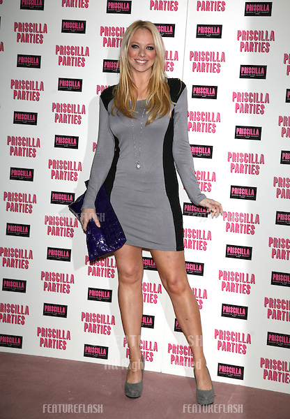 Liz McClarnon arriving at the launch event for Priscilla Parties, at the Palace Theatre, London. 24/01/2011  Picture by: Alexandra Glen / Featureflash