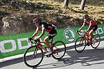 Richie Porte (AUS) BMC Racing Team descends Sierra de la Alfaguara after Stage 4 of the La Vuelta 2018, running 162km from Velez-Malaga to Alfacar, Sierra de la Alfaguara, Andalucia, Spain. 28th August 2018.<br /> Picture: Eoin Clarke   Cyclefile<br /> <br /> <br /> All photos usage must carry mandatory copyright credit (&copy; Cyclefile   Eoin Clarke)