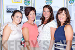 Aine O'Shea, Bridie O'Shea, Michelle Murphy and Siobhain Kelliher enjoying the Glenflesk 1988 O'Donoghue Cup winning team reunion in the Muckross Park Hotel Killarney on Saturday night