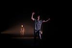 Le silence ou la culpabilité d'Agamemnon<br /> <br /> Pièce théâtrale et chorégraphique de Juliette Morel librement inspiré d'Iphigénie à Aulis<br /> Avec : Serge Biavan, Juliette Morel<br /> Compagnie du Liocorno<br /> Lieu : Maison du developpement Culturel<br /> Ville : Gennevilliers<br /> Date : 07/11/2019