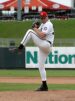 August 31, 2003:  Jason Wylie of the Lansing Lugnuts during a game at Cooley Stadium in Lansing, Michigan.  Photo by:  Mike Janes/Four Seam Images