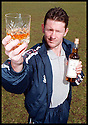 "6th May 98          Copyright Pic : James Stewart   .KEVIN MCALLISTER RAISES HIS GLASS TO LAUNCH THE NEW LIMITED EDITION WHISKY ""THE MCALLISTER"" WHICH HAS BEEN PRODUCED TO HELP THE BACK THE BAIRNS FUND....... .(COPY FROM JIM DAVIS)......Payments to :-.James Stewart Photo Agency, Stewart House, Stewart Road, Falkirk. FK2 7AS      Vat Reg No. 607 6932 25.Office : 01324 630007        Mobile : 0421 416997.If you require further information then contact Jim Stewart on any of the numbers above........."