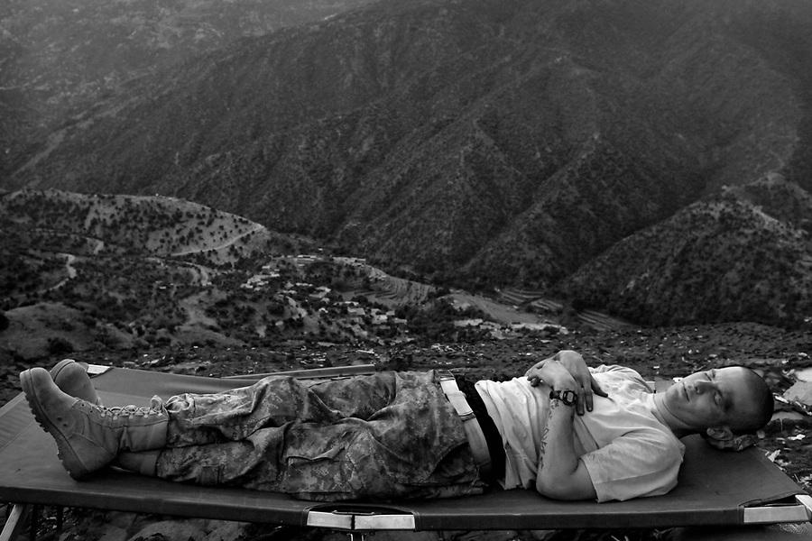 Korengal Valley, Afghanistan. June 2009.