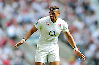Luther Burrell of England looks on. Old Mutual Wealth Cup International match between England and Wales on May 29, 2016 at Twickenham Stadium in London, England. Photo by: Patrick Khachfe / Onside Images