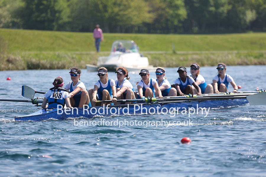 Race: 48  Event: W Club 8+  Final<br /> <br /> Wallingford Regatta 2018<br /> <br /> To purchase this photo, or to see pricing information for Prints and Downloads, click the blue 'Add to Cart' button at the top-right of the page.