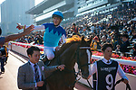 SHA TIN, HONG KONG – December 8: Admire Mars, ridden by Christophe Soumillon<br /> wins the Group 1 Longines Hong Kong Mile on Longines Hong Kong International Race Meeting at Sha Tin Racecourse in Hong Kong. Michael McInally/Eclipse Sportswire/CSM