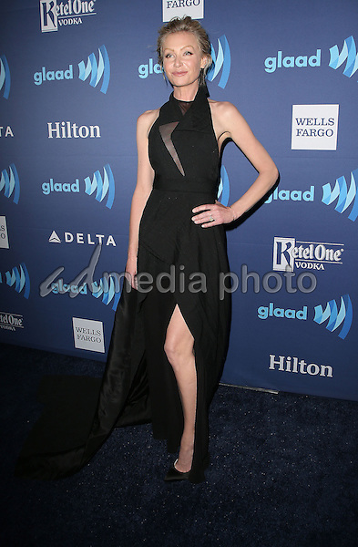 21 March 2015 - Beverly Hills, California - Portia De Rossi. 26th Annual GLAAD Media Awards held at The Beverly Hilton Hotel. Photo Credit: F. Sadou/AdMedia
