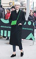 NEW YORK, NY - April.12: Agyness Deyn at Build Series in New York City on April 12, 2019 <br /> CAP/MPI/RW<br /> &copy;RW/MPI/Capital Pictures