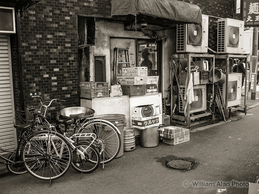 Back of the Noodle in Ota, Japan 2014.