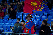 31st October 2017, St Jakob-Park, Basel, Switzerland; UEFA Champions League, FC Basel versus CSKA Moscow; An FC Basel fan before the match