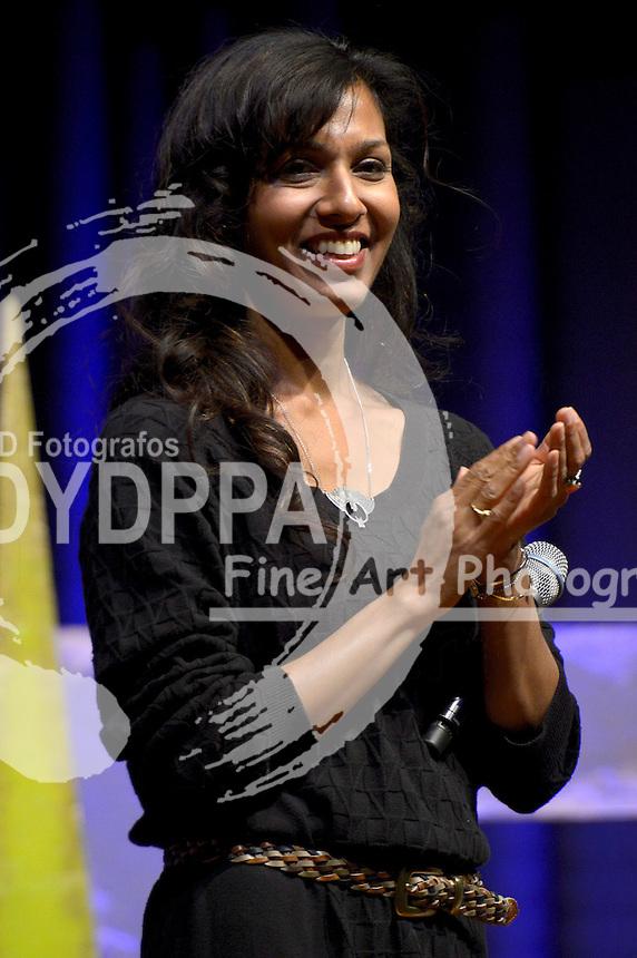 Rekha Sharma auf Europas größter Science Fiction Convention FedCon 25 im Maritim Hotel. Bonn, 15.05.2016