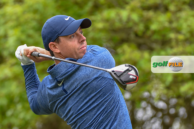 Rory McIlroy (NIR) watches his tee shot on 5 during day 4 of the WGC Dell Match Play, at the Austin Country Club, Austin, Texas, USA. 3/30/2019.<br /> Picture: Golffile | Ken Murray<br /> <br /> <br /> All photo usage must carry mandatory copyright credit (© Golffile | Ken Murray)