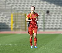 Belgium U19 - Ukraine U19 : <br /> <br /> Belgium U19 : Pauline Windels<br /> <br /> foto Dirk Vuylsteke / Nikonpro.be