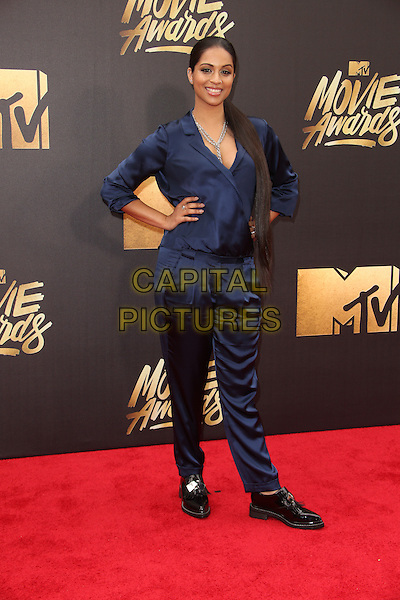 Burbank, CA - April 09 Lilly Singh Attending 25th Annual MTV Movie Awards at Warner Brothers Studios On April 09, 2016. <br /> CAP/ADM/FS<br /> &copy;FS/ADM/Capital Pictures
