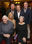 Rob Ashford with his family during the Rob Ashford portrait unveiling for the Sardi's Wall of Fame on October 10, 2018 at Sardi's Restaurant in New York City.
