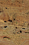 . Nabatean tomb. Middle East. Jordan. Petra