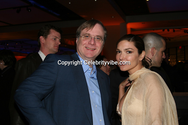 "Paul Allen and girlfriend Laura Harring..""The Aviator"" Los Angeles Premiere Post Party..The Annex..Hollywood, CA, USA..Wednesday, December 1, 2004..Photo By CelebrityVibe.com..To license this image please call (212) 410 5354; or .Email: CelebrityVibe@gmail.com ; .website: www.CelebrityVibe.com"