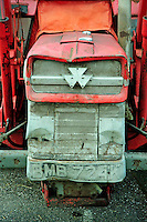 Old Massey Ferguson tractor, Cheshire....Copyright..John Eveson, Dinkling Green Farm, Whitewell, Clitheroe, Lancashire. BB7 3BN.01995 61280. 07973 482705.j.r.eveson@btinternet.com.www.johneveson.com