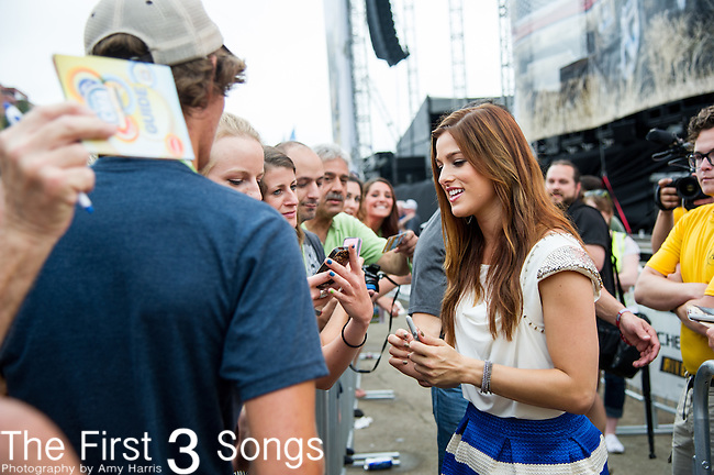Cassadee Pope performs on Day One of the 2014 CMA Music Festival in Nashville, Tennessee.