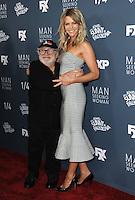 www.acepixs.com<br /> <br /> January 3 2017, LA<br /> <br /> Actor Danny DeVito and Kaitlin Olson arriving at the premiere of FXX's 'It's Always Sunny In Philadelphia' Season 12 and 'Man Seeking Woman' Season 3 at the Fox Bruin Theatre on January 3, 2017 in Los Angeles, California. <br /> <br /> By Line: Peter West/ACE Pictures<br /> <br /> <br /> ACE Pictures Inc<br /> Tel: 6467670430<br /> Email: info@acepixs.com<br /> www.acepixs.com