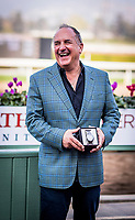ARCADIA, CA - DECEMBER 26: Richard Baltas at Santa Anita Park on December 26, 2017 in Arcadia, California. (Photo by Alex Evers/Eclipse Sportswire/Getty Images)