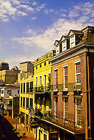 Bourbon Street, French Quarter, New Orleans, Louisiana USA