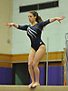Jamie Simon of Plainview JFK performs on the balance beam during a Nassau County varsity gymnastics meet against Massapequa at McKenna Elementary School on Monday, Feb. 1, 2016.