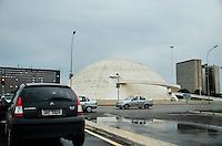 BRASÍLIA, DF, 07.03.2016 - CLIMA-DF - Congresso Nacional na Área central de Brasília após forte chuva na tarde desta segunda-feira, 07. (Foto: Ricardo Botelho/Brazil Photo Press)