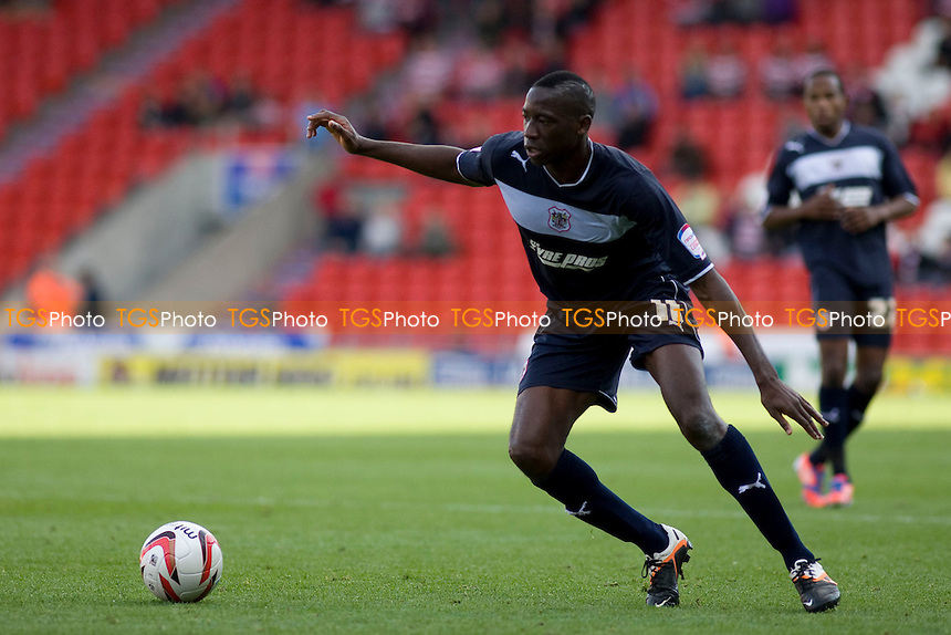 Lucas Akins (Stevenage FC). - Doncaster Rovers vs Stevenage - NPower League One Football at the Keepmoat Stadium - 22/09/12 - MANDATORY CREDIT: Mark Hodsman/TGSPHOTO - Self billing applies where appropriate - 0845 094 6026 - contact@tgsphoto.co.uk - NO UNPAID USE.