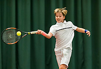 Wateringen, The Netherlands, March 9, 2018,  De Rijenhof , NOJK 12/16 years, Pieter Lange (NED)<br /> Photo: www.tennisimages.com/Henk Koster