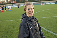 Portland, OR - Sunday March 11, 2018: Meghan Klingenberg during a National Women's Soccer League (NWSL) pre season match between the Portland Thorns FC and the Chicago Red Stars at Merlo Field.