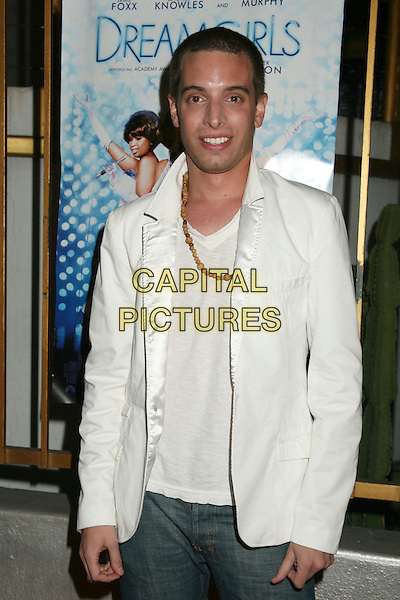 "DAMIAN PELLICCIONE .""Dreamgirls"" DVD Release Party at Arena Nightclub, Hollywood, California, USA..April 26th, 2007.half length white suit jacket necklace.CAP/ADM/BP.©Byron Purvis/AdMedia/Capital Pictures"