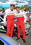 """Michael Trucco and Jesse Metcalfe at the practice day for the """"37th Annual Toyota Pro/Celebrity Race"""" in Long  Beach California April 9 2013"""