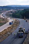 The  Newbury  bypass nearing completion.